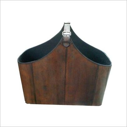 Leather Magazine Tote By Designs $112
