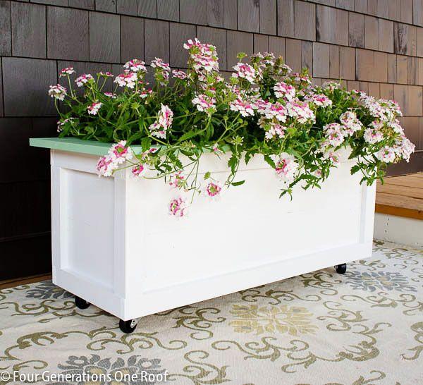 120 Best Diy Flower Pots Planters Images On Pinterest