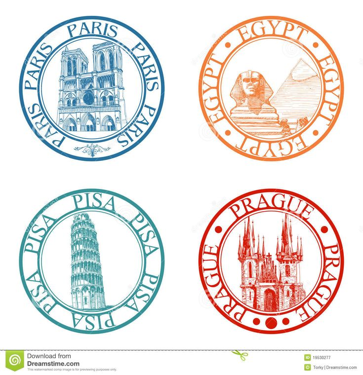travel stamps images - Google Search