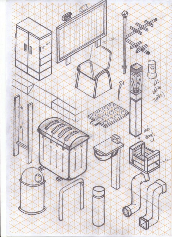 how to draw almost anything in isometric projection - Miquel Tura Rigamonti from…