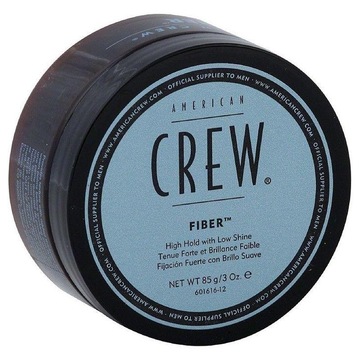 American Crew Fiber Pliable Molding Creme For Men Thicken Texturize Hair 3 Oz #AMERICANCREW