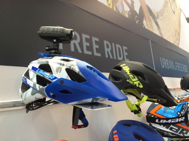 The new Limar 949 dr helmet with camera mount @ eurobike 2014