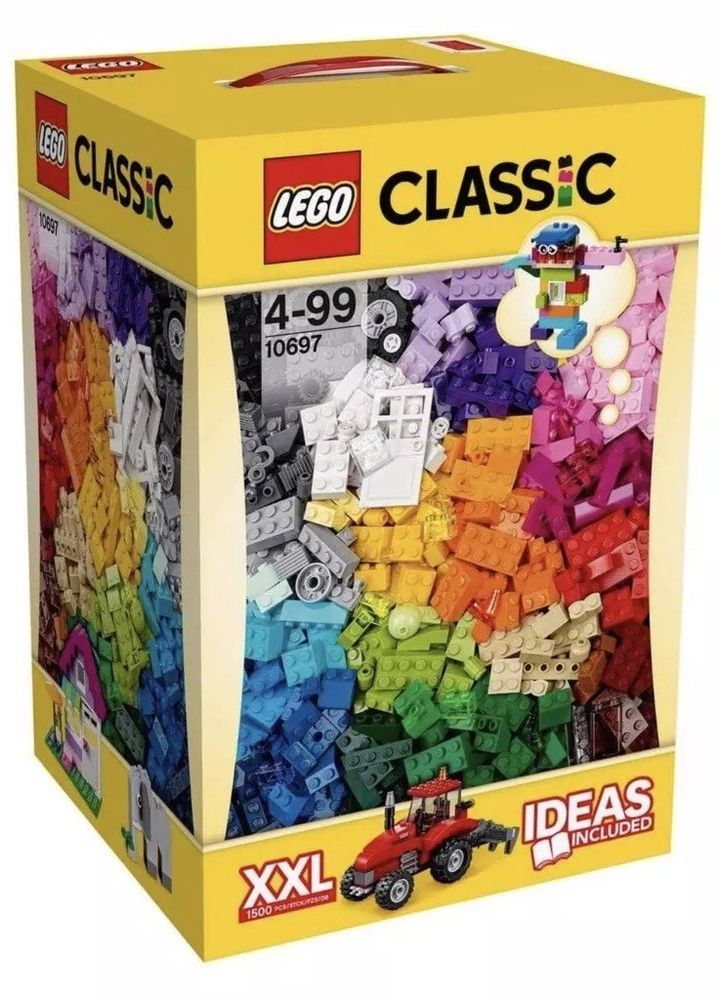 Lego Classic Creative Box 10704-900 Pieces 39 colors