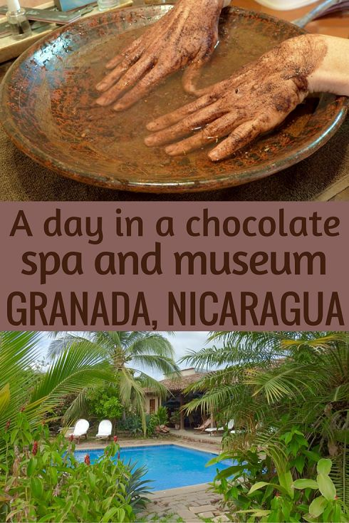 Adoration 4 Adventure's recommendations for a chocolate spa and museum in Granada, Nicaragua. Including a chocolate making workshop and spa treatments.