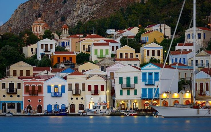 """Keep calm and choose a lego house in #Kastellorizo #VisitGreece #Greece"""