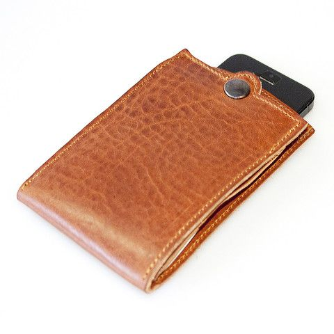 COACH - Leather iPhone Wallet