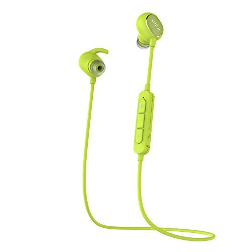 [QCY Factory Outlet] QY11 Casque Bluetooth 4.1 sans fil Anti-bruit Oreillette Intra-auriculaires Stéréo Ecouteurs d'exercice avec La…