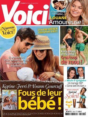 Karine Ferri & Yoann Gourcuff fous de leur bébé ! - Voici - Numéro 1494