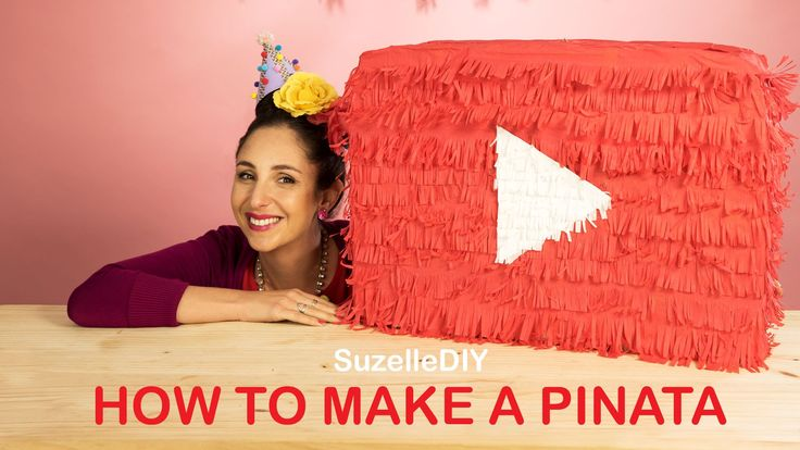 SuzelleDIY - How to Make a Piñata