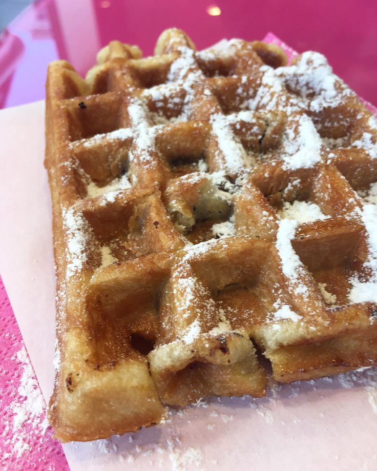 You can stand on a certain street corner and see three different Pinky's locations so there's no excuses for not grabbing one for your waffle desires.