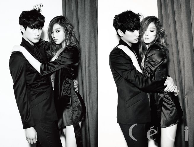 Lee Sung Kyung and Yoon Park - Ceci Magazine February Issue '15