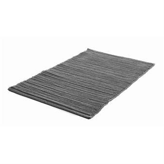 Ribb small rug - graphite grey - Etol Design
