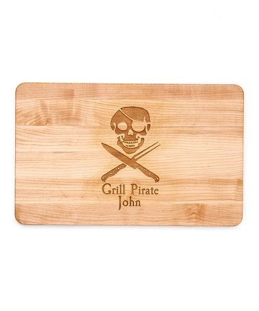 love this grill pirate handle boos cutting board on zulily zulilyfinds - Boos Cutting Board