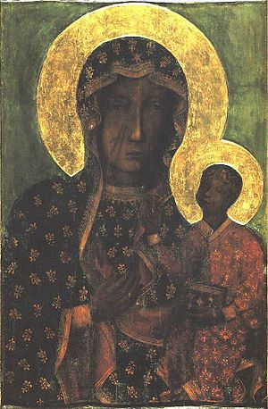 Our Lady of Częstochowa - 	Jasna Góra Monastery, Częstochowa - Read about the legends and miracles of this painting and its origins by clicking the photo.