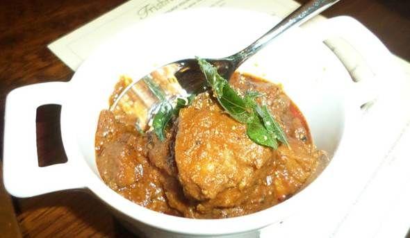Andhra Lamb Masala @ Trishna, London