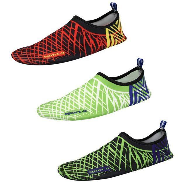 Deal Today $5.10, Buy Men Woman Barefoot Skin Sock Striped Shoes Beach Pool Water Socks GYM Aqua Beach Swim Slipper On Surf Aqua Shoes