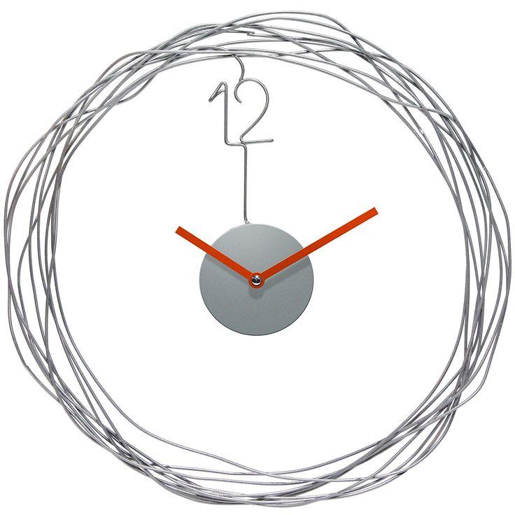 Wire Transfer Wall Clock