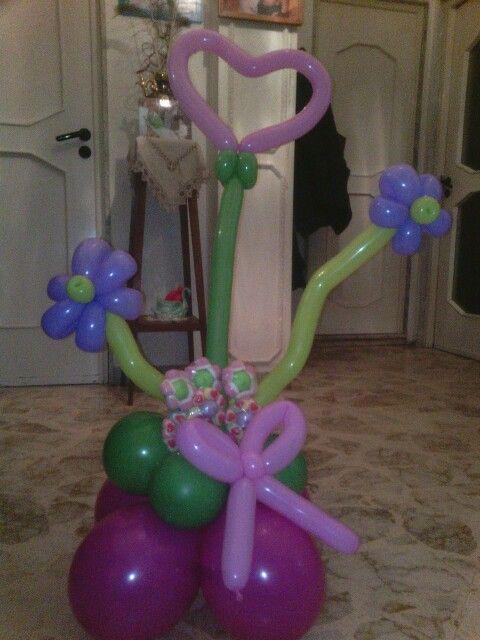 Sculture palloncini femminuccia