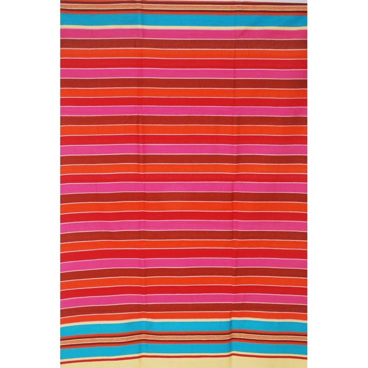 Striped Cotton Durry (Rug)