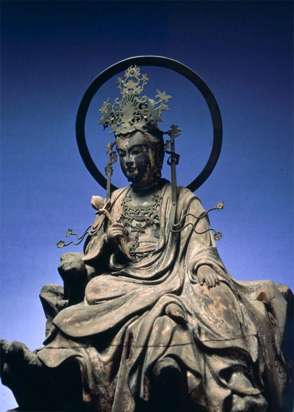 水月観音菩薩(東慶寺)