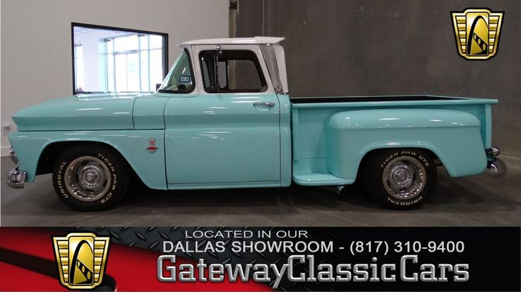 1963 Chevrolet C10 Stepside Stock #23 Gateway Classic Cars Dallas Showroom