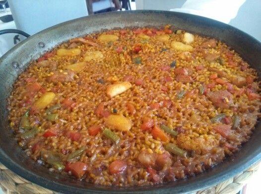 El arroz, en su punto. #malaga #restaurantes