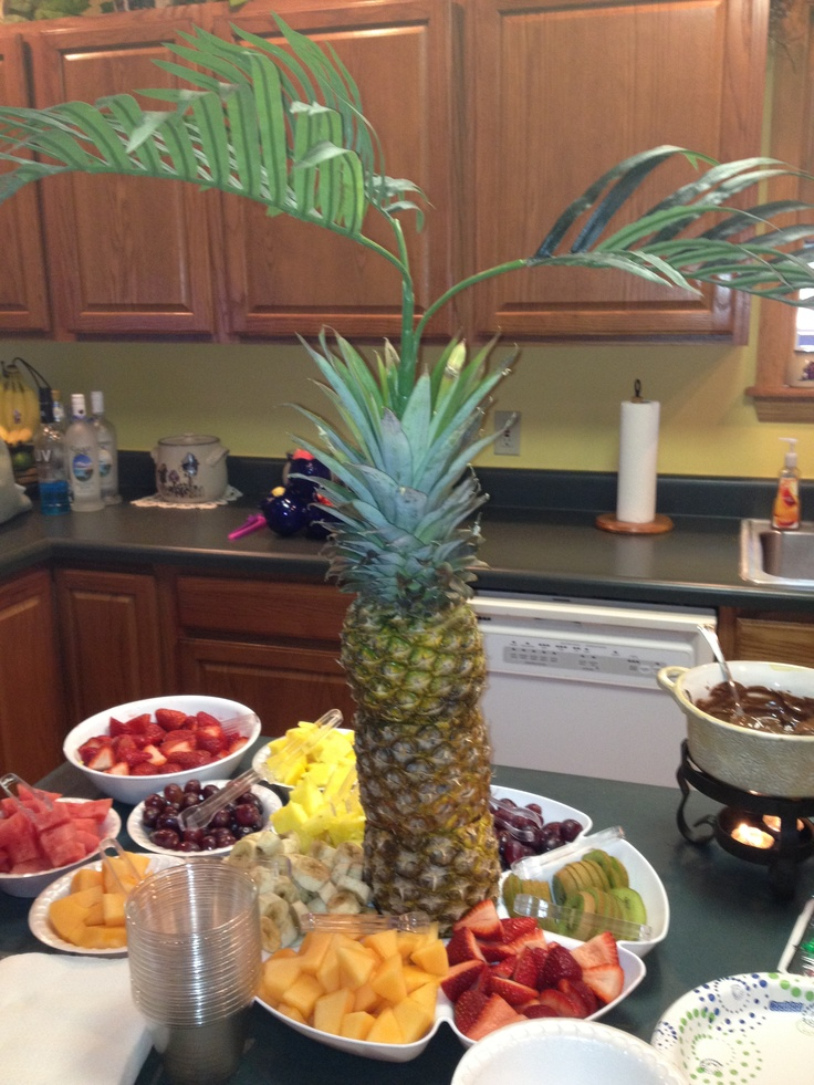 My second pineapple palm tree and fruit for my ...