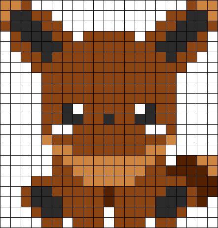 Charmillion Pixel Art Grid 24x24