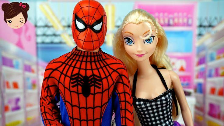 Elsa se Enamora de Spiderman - Historias con Superheroes Muñecas ...