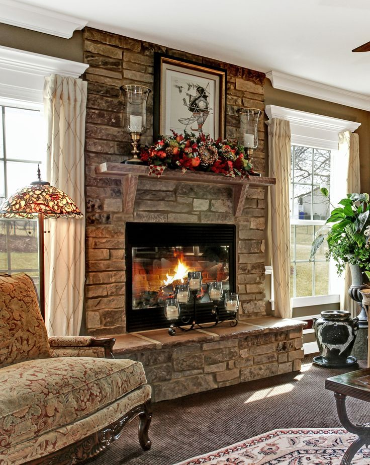 15 DIY Brick Fireplace Makeover Ideas Sublime
