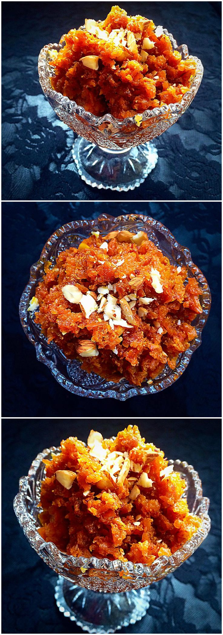 Gajar (Carrot) ka Halwa - A traditional Pakistani dessert recipe @ fatimacooks.net