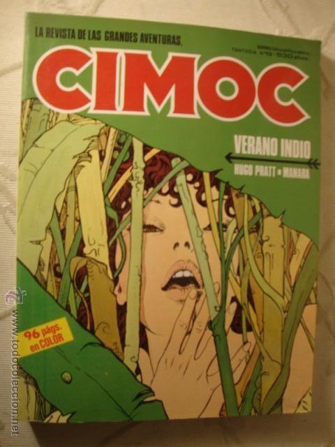 FANTASIA CIMOC VERANO INDIO.Nº 47-48-49.TOMO 13 Recopilatorio de revistas especializadas en cómics
