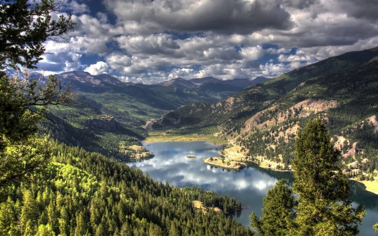 Lake San Cristobal, Colorado.
