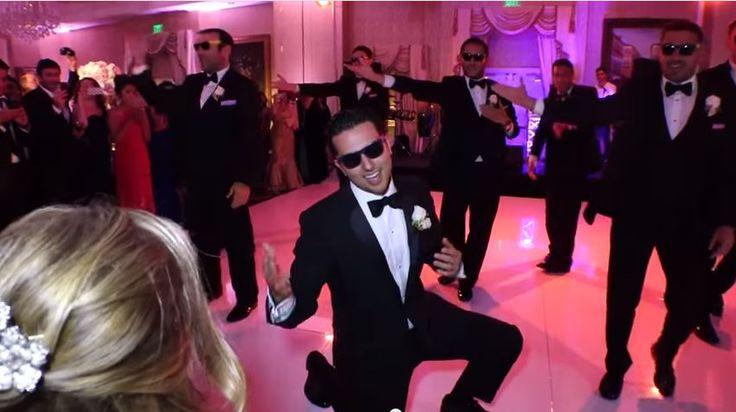 Coreografia Sorpresa Del Novio Y Sus Amigos Se Vuelve Furor En Youtube #Video