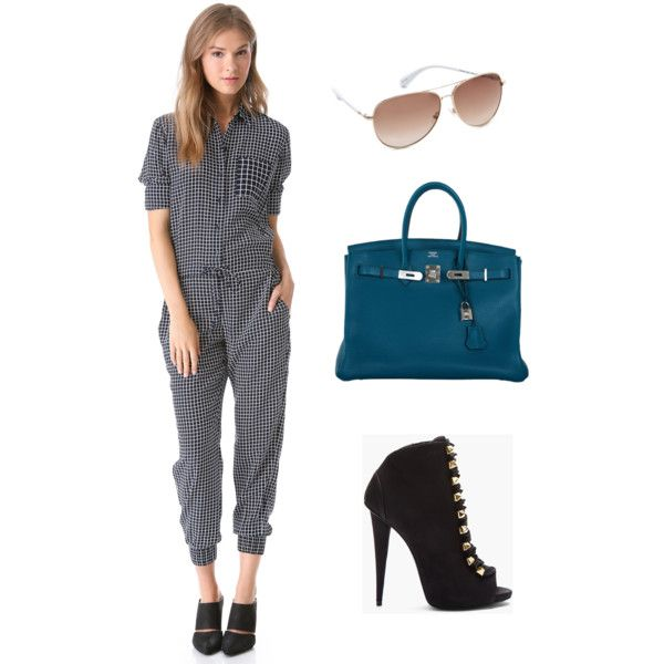 """Chic Street Jumpsuit"" by selebstyle on Polyvore"
