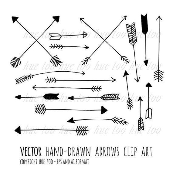 arrow line clip art - photo #14