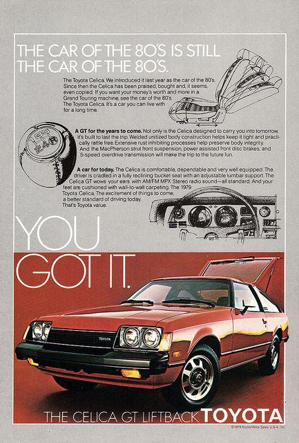 1979 Toyota Celica #ad