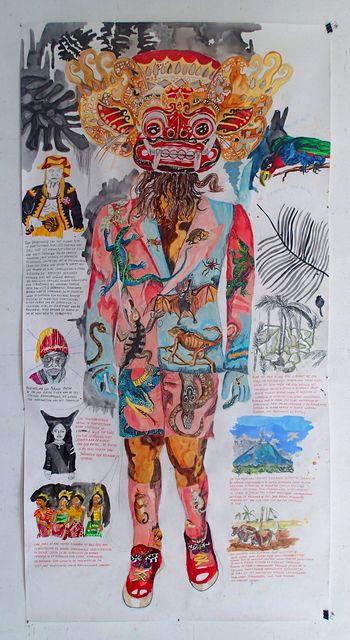 Charlotte Schleiffert, 'Dorpshoofd van het eiland Nias,' 2013, AKINCI