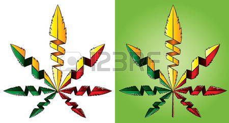 marijuana: Marijuana cannabis leaf symbol design vector illustration