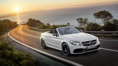 New Mercedes-AMG C 63 Cabriolet by drive.gr