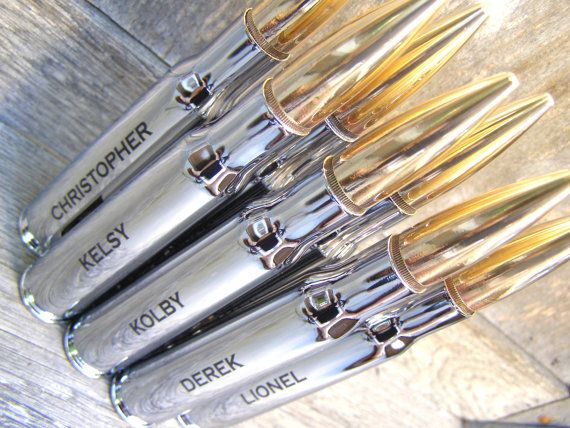 Groomsmen Gift. Engraved 50 Caliber Bottle Opener with Bottle Breacher Gift Box. Groom Gift. Father of the Bride Gift. Groomsman Gift