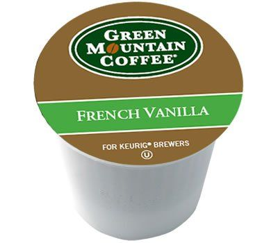 Green Mountain French Vanilla 96 K-Cups - http://thecoffeepod.biz/green-mountain-french-vanilla-96-k-cups/
