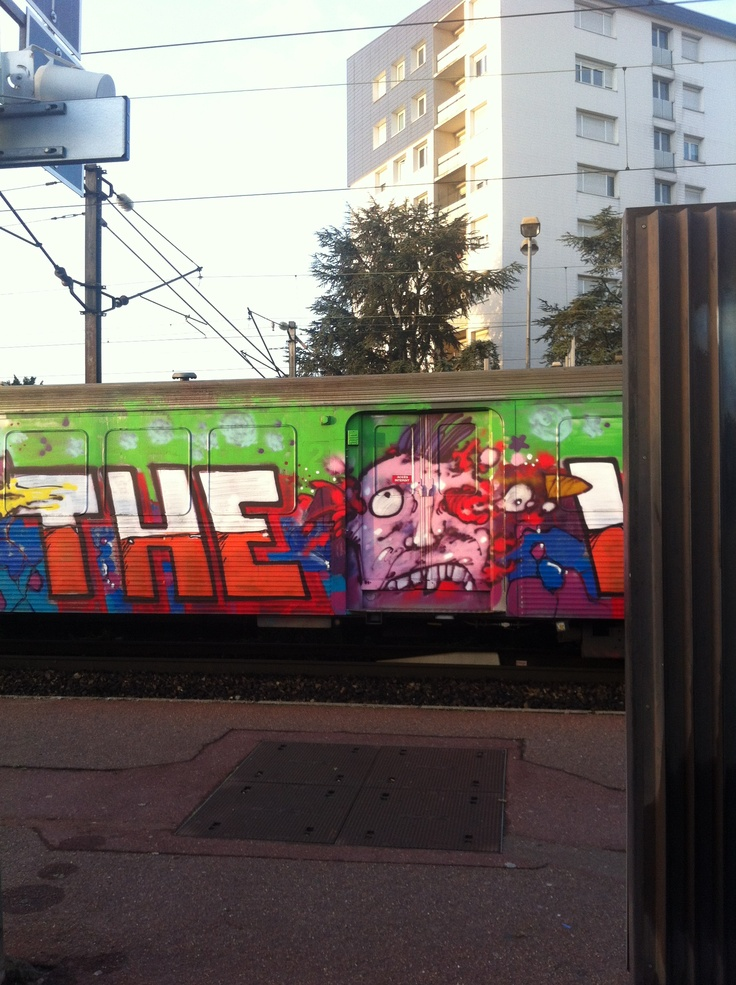 Le petit Gris déguisé Ligne H Epinay-Villetaneuse 22/10/2012