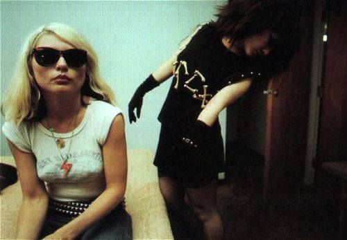 Oh you know, just Debbie Harry and Siouxsie Sioux hangin' out.