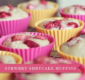 StrawberryHealth Desserts, Healthy Cooking, Healthy Alternative, Shortcake Muffins, Desserts Healthy, Strawberry Shortcake, Healthy Recipe, Healthy Desserts, Strawberries Shortcake