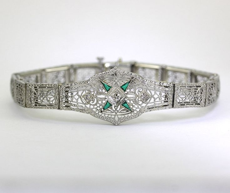 The 25 best Emerald bracelet ideas on Pinterest