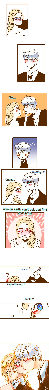 Creíste que podías rechazarlo Elsa...tranquila que él se encarga de todo