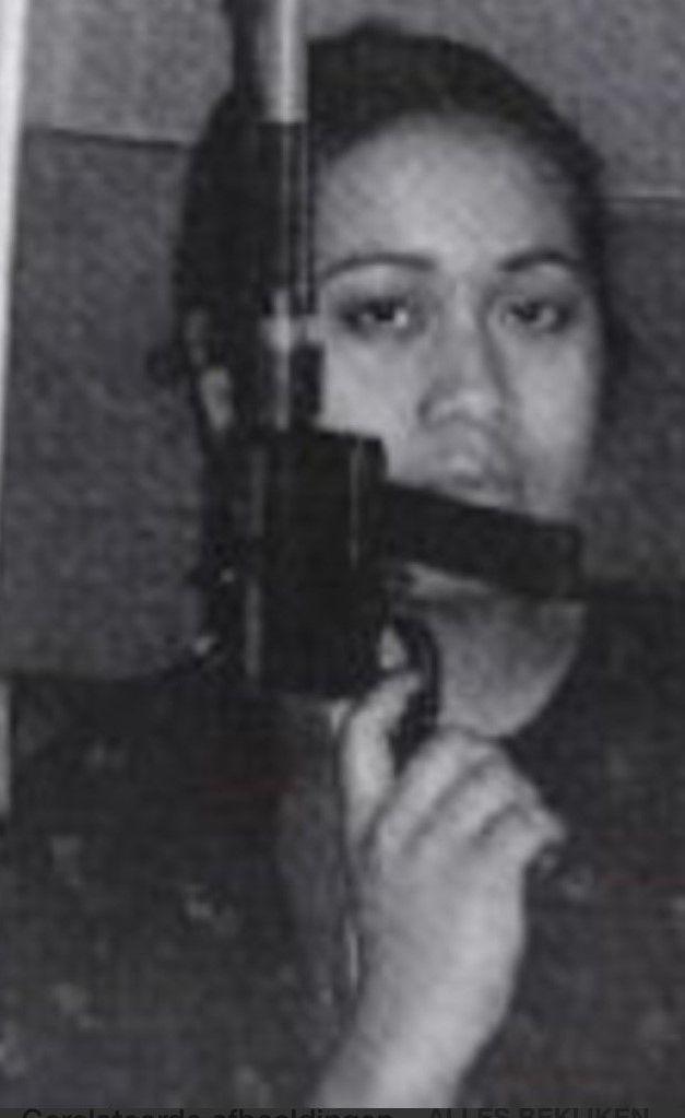 R.I.P. Hansina Uktolsea , de enige vrouwelijke    Molukse kaper.    1955 - 11 Juni 1977