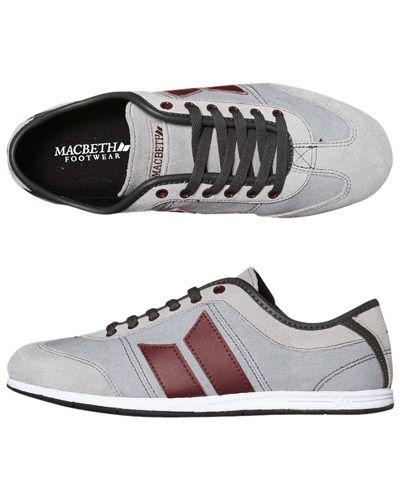 SURFSTITCH - FOOTWEAR - MENS FOOTWEAR - SNEAKERS - MACBETH BRIGHTON SHOE - MEDIUM GREY BRICK http://www.6pm.com/macbeth-brighton~2
