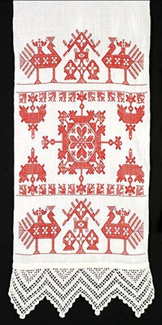 Norwegian embroidery